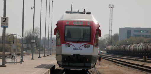 Поезд Вильнюса
